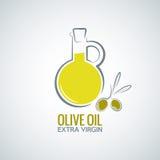 Olijfolieachtergrond vector illustratie