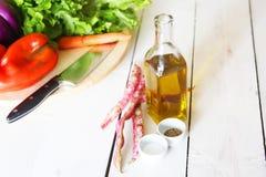 Olijfoliefoto Stock Afbeeldingen