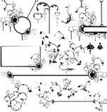 olik designelementset Vektor Illustrationer