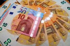 olik euro för sedlar
