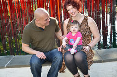 Olik familj Royaltyfria Foton