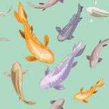 Olik fisk Stock Illustrationer