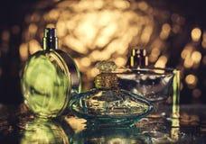 Olik flaska av dofter Royaltyfri Foto