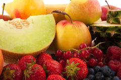 olik frukt Arkivfoton