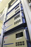 Olik instrumentutrustning som mäter luftkvalitet Royaltyfria Foton