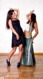 Olik kind av kvinnadansen Arkivfoto