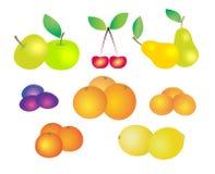 olik ny frukt Arkivfoton