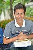 Olik pojkestudent And Laughter fotografering för bildbyråer