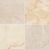 Olik textur fyra av en ljus marmor. (high.res.) Royaltyfri Foto