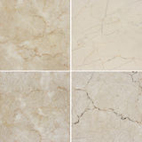 Olik textur fyra av ett ljus och en mörk marmor (Höjdpunkt res ), Royaltyfri Bild