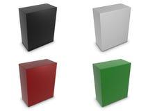 olik vertical för askfärger Arkivfoto
