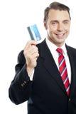 Olik visande kreditkort för affär Royaltyfri Foto