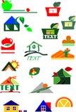 olika affärssymboler Arkivfoton