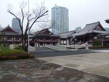 Olika buidings i Japan royaltyfri bild