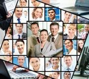olika businesspeople arkivbild