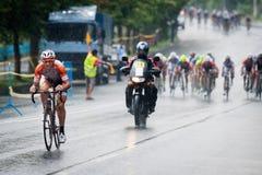 Olika cyklister Royaltyfria Bilder