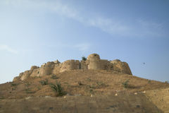 Olika delar av det guld- fortet av Jaisalmer Arkivbild