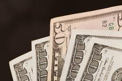 Olika dollarsedlar - bild royaltyfri fotografi