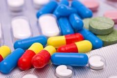 Olika droger Arkivbild