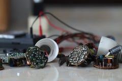 Olika elektriska apparater, version 2 Arkivbilder