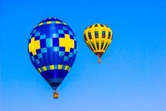 Olika formade ballonger för varm luft Royaltyfri Fotografi