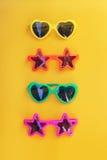 Olika former av solglasögon Royaltyfri Foto