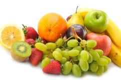 olika frukter Fotografering för Bildbyråer