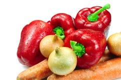 olika grönsaker Arkivfoton