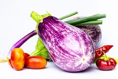 Olika grönsaker på vit bakgrund Horisontalsiktsgrönsaker färgade flera färger på neutral bakgrund arkivfoton