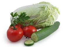 olika grönsaker Arkivfoto