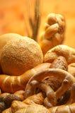 olika gruppprodukter för bröd Arkivfoton