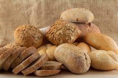 olika grupptyper för bröd Royaltyfria Bilder