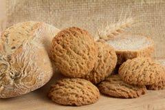 olika grupptyper för bröd Royaltyfri Fotografi