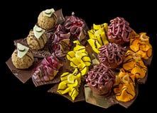 Olika hemlagade sötsaker Royaltyfria Bilder