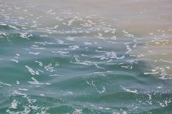 Olika kroppar av vatten i Lake Ontario Royaltyfria Foton