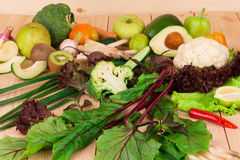 Olika nya grönsaker Royaltyfria Foton