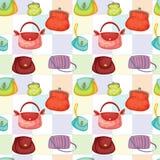 Olika påsar och handväskor royaltyfri illustrationer