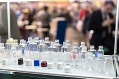 Olika plast-flaskor Fotografering för Bildbyråer