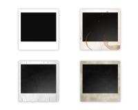 olika polaroids Royaltyfri Fotografi