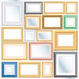 olika ramar Fotografering för Bildbyråer