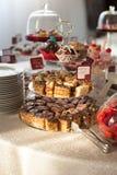 olika sötsaker Fotografering för Bildbyråer