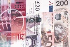 olika sedlar royaltyfri bild