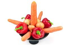 olika setgrönsaker Royaltyfri Foto
