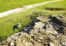 Olika sikter av höstlandskap arkivfoto