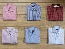 olika skjortor Royaltyfria Bilder