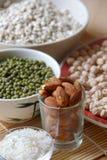 Olika sorter av korn Arkivbild