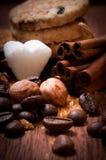 Olika sorter av socker Fotografering för Bildbyråer