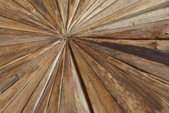 Olika sorter av woodchips i en geometrisk form Royaltyfri Foto