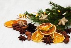 olika torkade nuts apelsinkryddor för sorter Arkivbilder