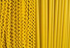Lång pasta Royaltyfria Bilder